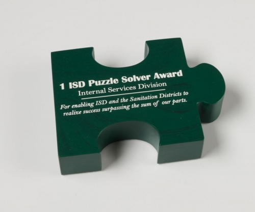 Puzzle Piece Paperweight