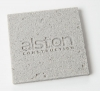 Square Concrete-Texture Coaster