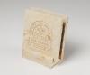2-Pc Square Limestone-Texture Coaster Set w/Base