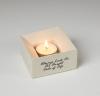 Concrete Square Candle Holder