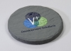 Round Shale-Texture Coaster (UV Print)