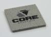 Square Concrete-Texture Coaster (UV Print)
