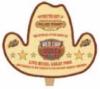 Single Side Cowboy Hat Shaped Fan