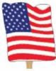 Single Side Flag Shaped Fan