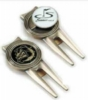 Golf Divot Repair Tools w/Removable Ball Marker