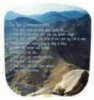 The Ten Commandments Stock Religious & Inspirational Fan