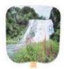 Scenic & Still Life Stock Waterfall Fan