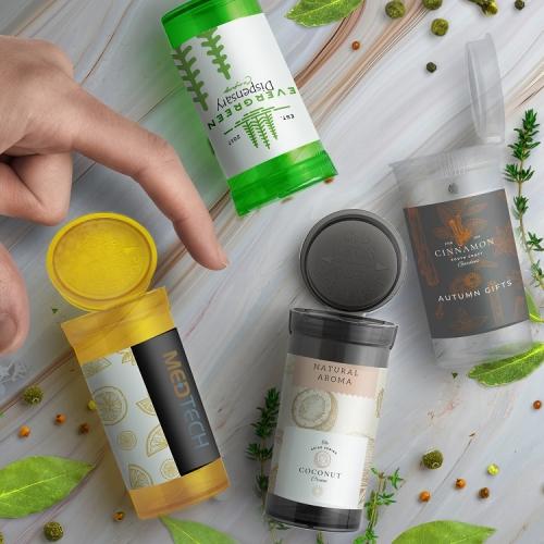 13 Dram Medicine Container