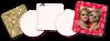 Blank/Scrapbooking Coasters - Light (approx. 40 pt.)