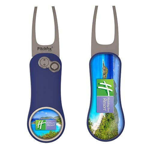Pitchfix® XL 3.0 Golf Divot Repair Tool w/Ball Marker