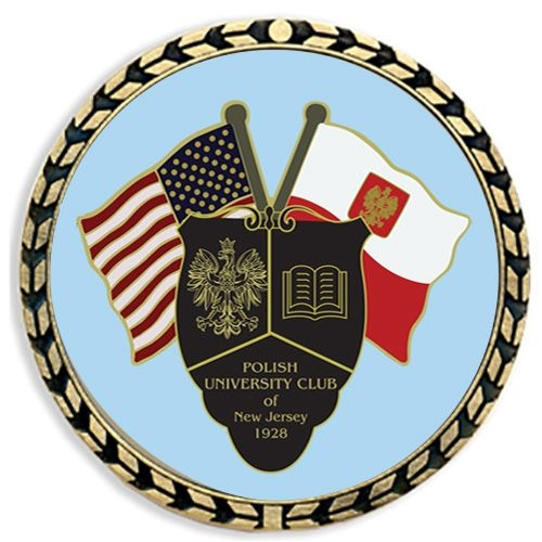 Challenge Coin w/ Wreath Border - Full Color Imprint - 6 Day Production