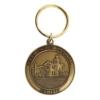 Custom Die Struck Brass Keychain (1 1/2