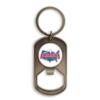 Dog Tag Keychain Bottle Opener w/Full Color Imprint