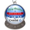 Snow Globe Shaped Holiday Ornament