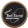 Challenge Coin Brass w/ Rope Border - Full Color Imprint - 6 Day Production