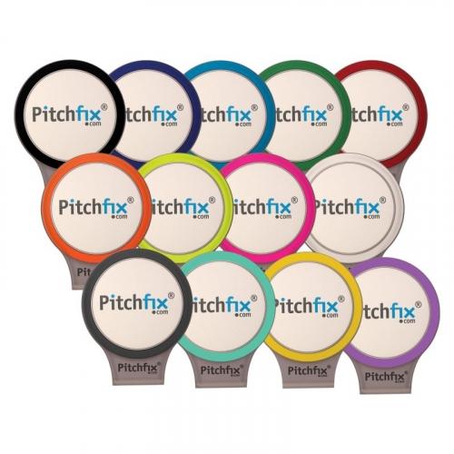 Pitchfix® Golf Hat Clip w/ Full Color Ball Marker