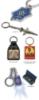 Custom Die Struck Iron Keychain (1 1/2