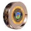 Die Struck Challenge Coins Embedded in Acrylic 2 3/8