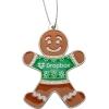 Gingerbread Man Holiday Ornament