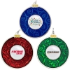 Round Bulb Holiday Ornament