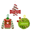 Custom Embroidered Ornaments
