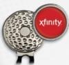 Golf Hat Clip w/ Custom Ball Marker
