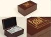Laser Engraved Dominos Set