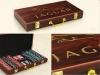 Laser Engraved Poker Chip Set