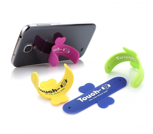 U-Shape silicone Phone Mount loop