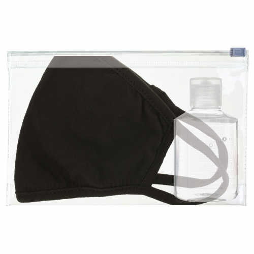Cloth Mask and Sanitizer PPE Kit