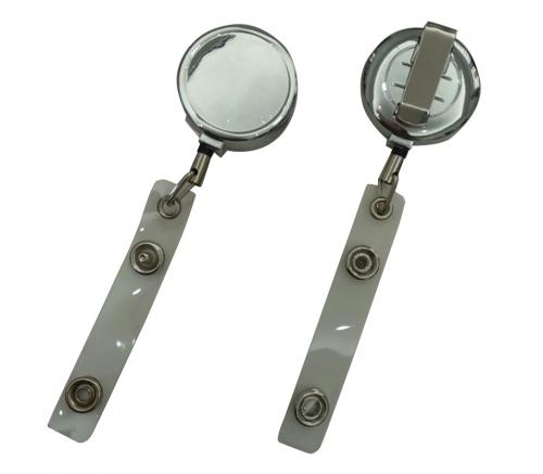 Round Metal Badge Reel