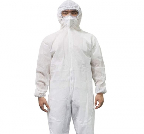 Non-Woven Disposable Bunny Suit - 45gsm