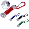 5 LED Flashlight with Carabiner