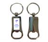 Rectangular Metal Bottle Opener Keyring