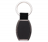 Black Double Sided Keychain