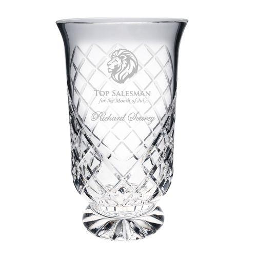 Tall Hurricane Vase