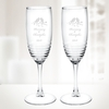 5.75oz Eminence Alto Flute - Pair | Molten Glass