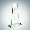 Pinnacle Award with Base | Jade Glass