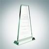Tower Award with Base | Jade Glass