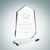 Polygon Award with Base | Clear Glass