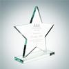 Star Award with Base | Jade Glass
