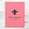 Pink Leatherette Passport Holder