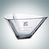 Crystalite Triangle Bowl - Small