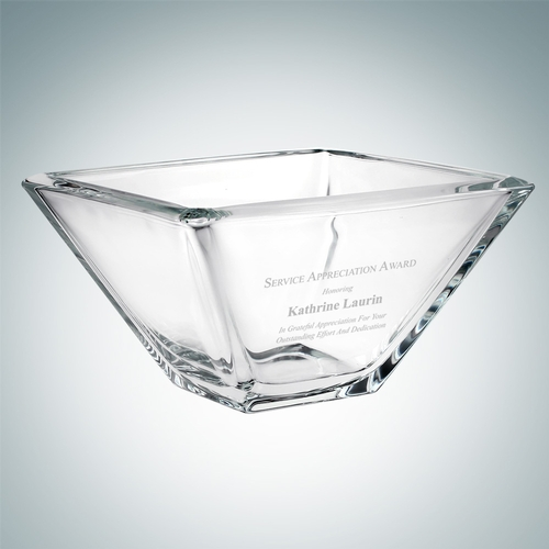 Ducale Bowl   Molten Crystal