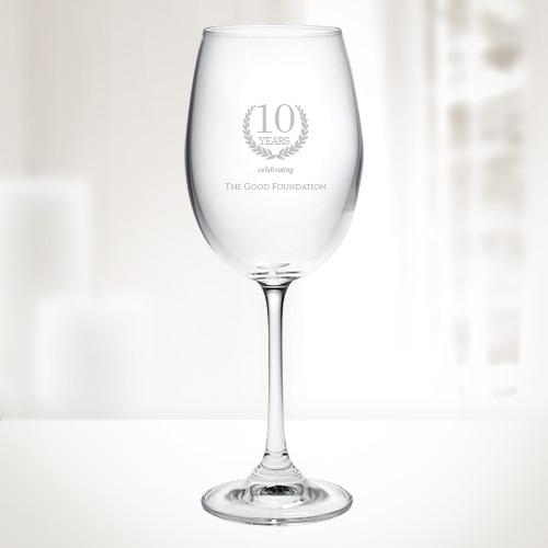 Crystalite 9.5 oz Gourmet White Wine Glass - 6pc set | Molten Crystal