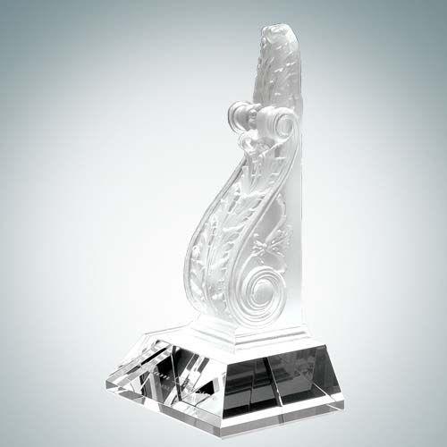 Executive Bookend Award | Optical Crystal,Pate de Verre