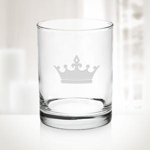 13oz Aristocrat DOF Glass   Molten Glass