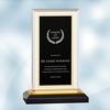 Black/Gold Royal Impress Acrylic Award - Small