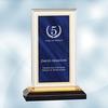 Blue Royal Impress Acrylic Award - Small
