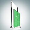 Green Success Award - Medium | Optical Crystal